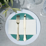 Gilded Flatware Set in Gold