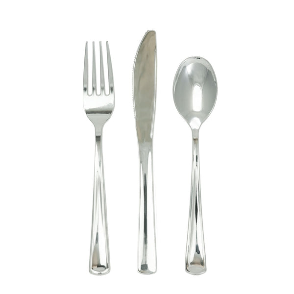 Contemporary Flatware in Silver