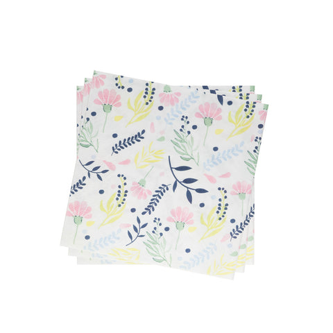Lightweight Napkin in Jardin Floral | Pack of 10