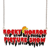 Rocky Horror Picture Show Necklace (Erstwilder Resin Rocky Horror Picture Show Necklace) - Glitterally.co.uk