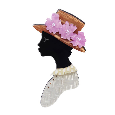 Miss Fanny Mae Jones (Erstwilder Resin Brooch) - Glitterally.co.uk