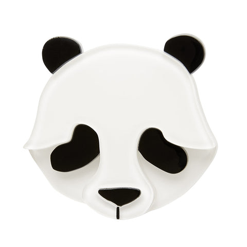 PEPITA THE POLITE PANDA BROOCH (Erstwilder resin brooch) - Glitterally.co.uk