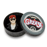 Hickie from Kenickie (Erstwilder Black Resin Boy Brooch) - Glitterally.co.uk