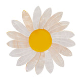 She Loves Me Daisy Brooch (Erstwilder resin daisy brooch) - Glitterally.co.uk
