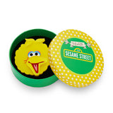 Big Bird Brooch (Erstwilder Sesame Street Big Bird Resin Brooch) - Glitterally.co.uk