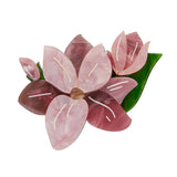 MAGNIFICENT MAGNOLIA BROOCH (Erstwilder resin brooch) - Glitterally.co.uk