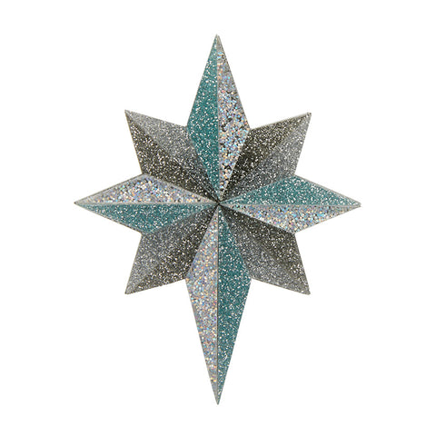 Starlight, Star Bright Brooch (Erstwilder Star Brooch) - Glitterally.co.uk