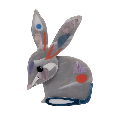 THE BASHFUL BILBY BROOCH (Erstwilder Pete Cromer resin brooch) - Glitterally.co.uk