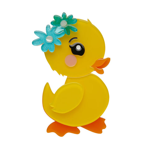 WADDLESWORTH JR. (Erstwilder Resin Chick Brooch) - Glitterally.co.uk