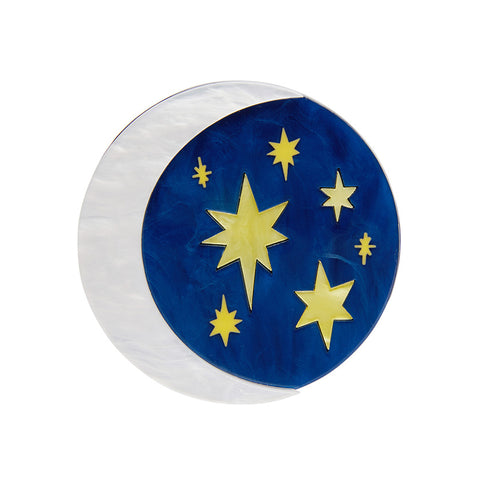 Our Lovely Luna Brooch (Erstwilder Resin Brooch)