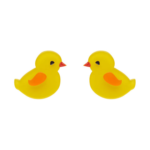 CHARMING CHICKS (Erstwilder Resin Chicks Earrings) - Glitterally.co.uk
