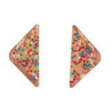 FAIRY BREAD (Erstwilder Resin Fairy Bread Earrings) - Glitterally.co.uk