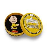 Charlie Brown Brooch (Erstwilder x Peanuts Resin Brooch)