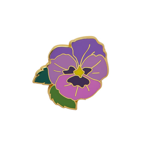 On Sleeping Eyelids Enamel Pin (Erstwilder Enamel Pin)