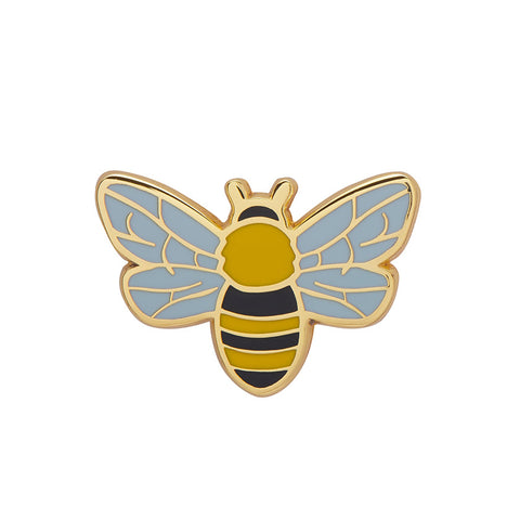 HARMONIUS HONEY BEE ENAMEL PIN (Erstwilder) - Glitterally.co.uk