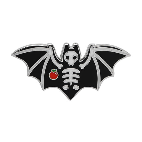 Bat Out of Hell Enamel Pin (Erstwilder Halloween Bone Brigade Enamel Pin)