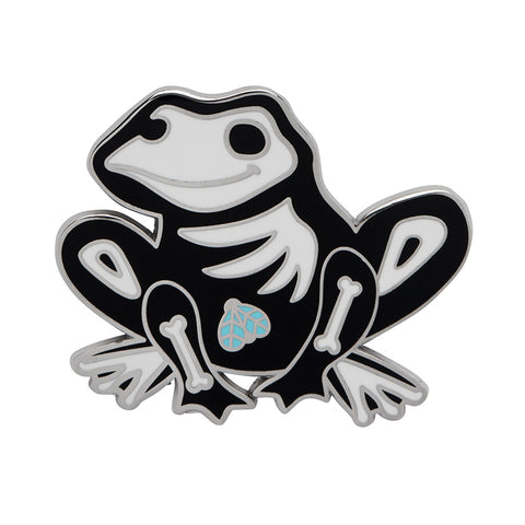 Haunted Hopper Enamel Pin (Erstwilder Halloween Bone Brigade Enamel Pin)