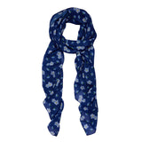 New - DON'T YOU FORGET ABOUT ME LARGE NECK SCARF (Erstwilder Neck Scarf) - Glitterally.co.uk