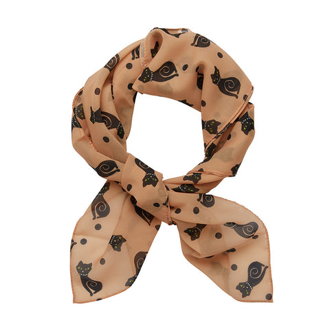 MEOW AT MIDNIGHT SCARF (Erstwilder Scarf) - Glitterally.co.uk