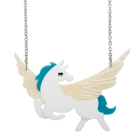 WING AND A PRAYER NECKLACE (ERSTWILDER necklace) - Glitterally.co.uk