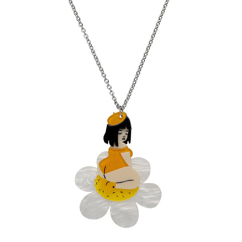 Sweet Marguerite (Erstwilder Resin Necklace) - Glitterally.co.uk