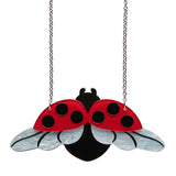 FLY AWAY HOME (Erstwilder Resin Butterfly Necklace) - Glitterally.co.uk
