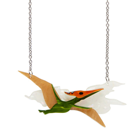 Celine the Pterodactyl Necklace (Erstwilder Resin Necklaces)
