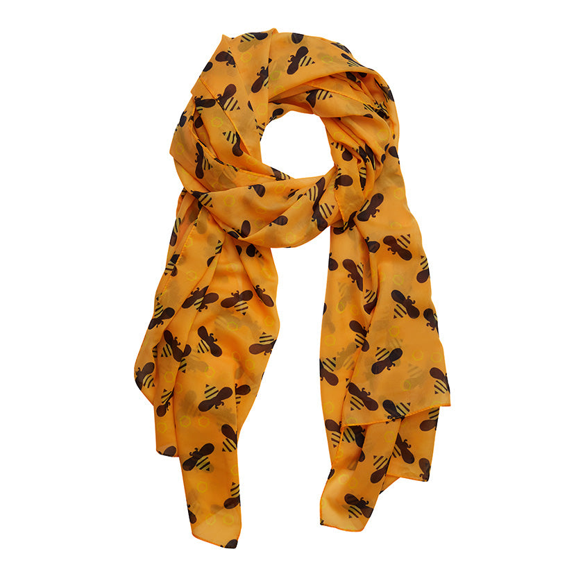 BABETTE BEE LARGE NECK SCARF (Erstwilder Large Neck Scarf) - Glitterally.co.uk