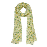 WOVEN WATTLE NECK SCARF (Erstwilder Neck Scarf) - Glitterally.co.uk