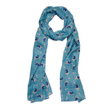 PHOEBE THE FAIRY WREN NECK SCARF (Erstwilder Neck Scarf) - Glitterally.co.uk