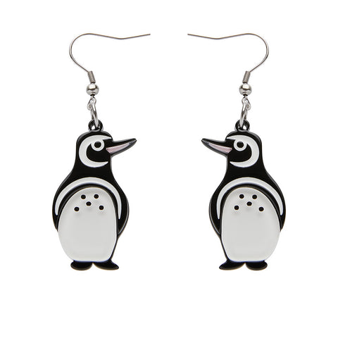NORTHSIDE WANDERER PENGUIN EARRINGS (Erstwilder Penguin Resin Earrings) - Glitterally.co.uk