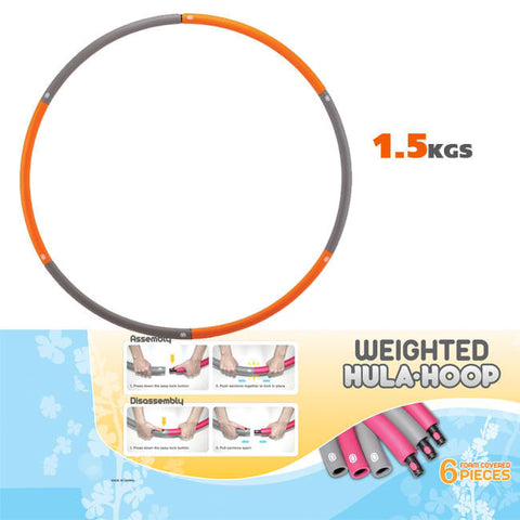 Jasmine Fitness Weighted 1.5kg  Hula Hoop