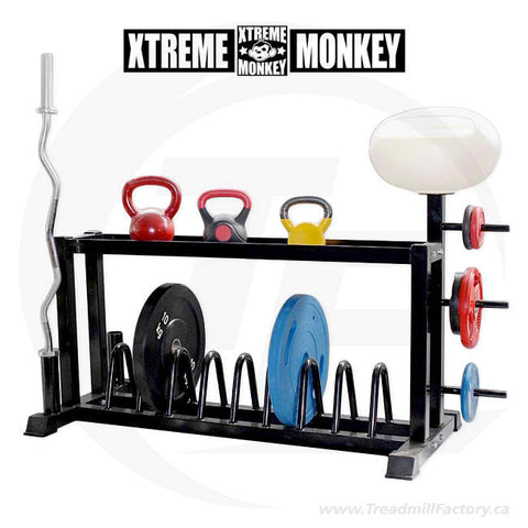 XM Cross Training Functional Storage Rack