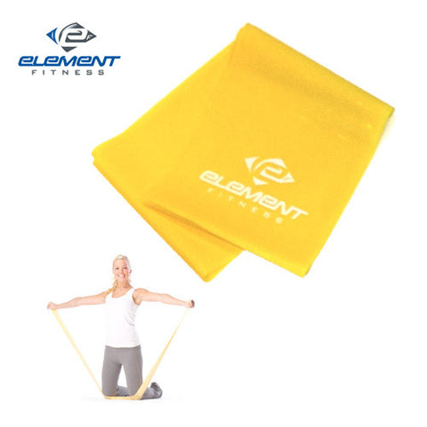 Element Fitness 4' Resistance Bands Level 1