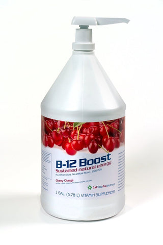 Liquid B12 Boost Cherry Charge- Gallon