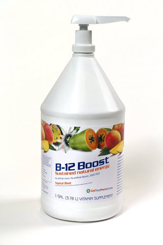 Liquid B12 Boost Tropical Blast- Gallon