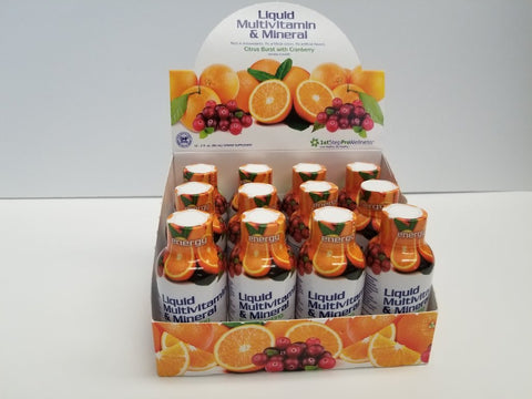 Liquid Multivitamin & Mineral 2oz; 12 pack
