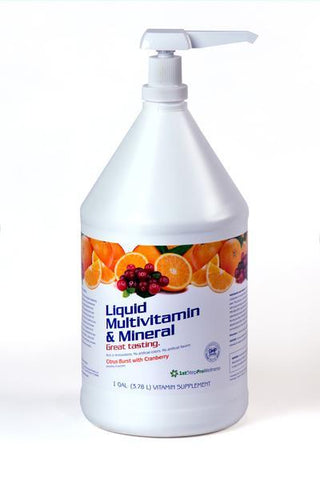 Liquid Multivitamin/Multimineral- Gallon