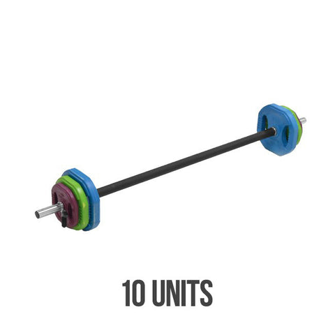 Element Fitness 10 Set Cardio Pump with Rack Set