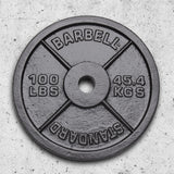 XTREME MONKEY 100lbs Cast Iron Weight Plate