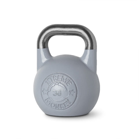 36kg Cool Grey Competition Kettlebell