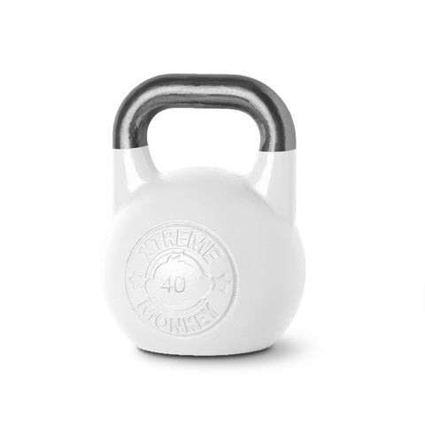 40kg White Competition Kettlebell