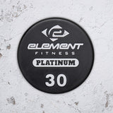 Element Fitness Commercial Polyurethane Straight Barbell Set