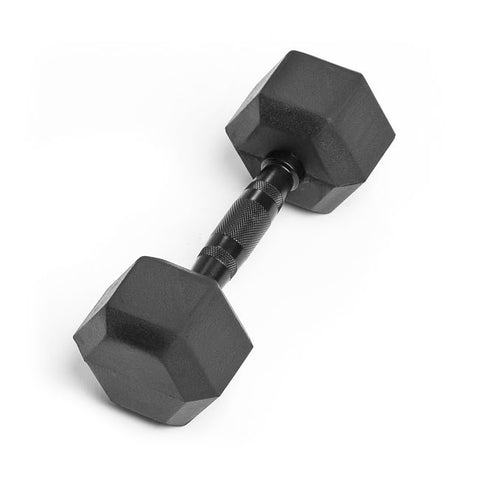 12lb Virgin Rubber Hex Dumbbell No Toxic Odor SDVR-12