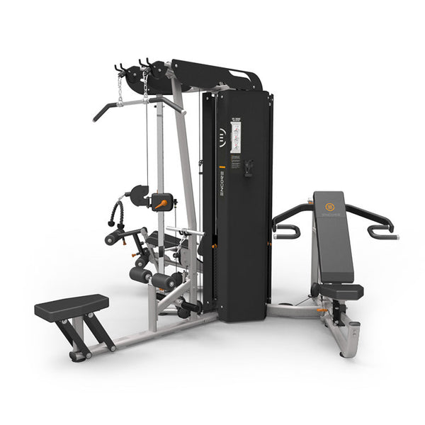 Gymnastics Equipment In Canada: Element Fitness 3 Stack 4 Station Gym