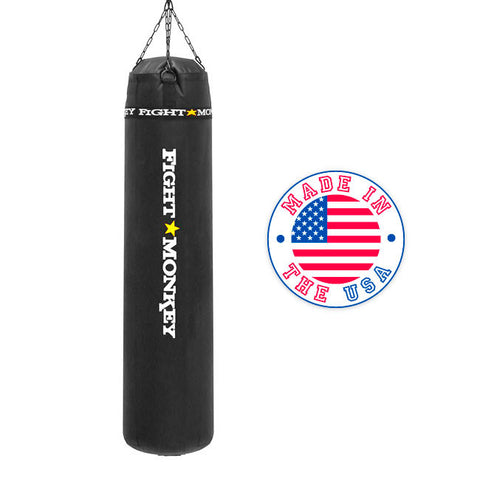 Fight Monkey Vinyl  Muay Thai Bag 125lbs