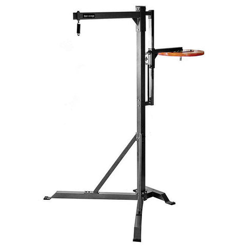 Commercial Heavy Bag Stand with Speed Bag Platform 522CBS