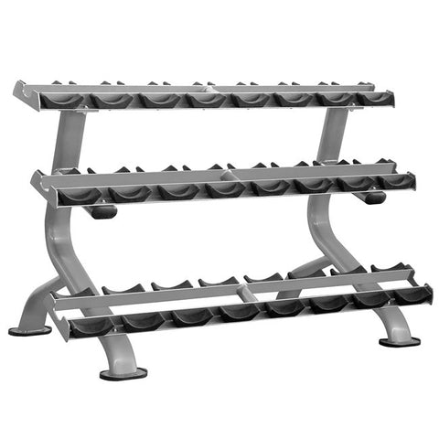 Element Series 3-Tier Dumbbell Saddle Rack