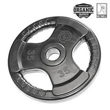 35lb Virgin Rubber Grip Olympic Plate