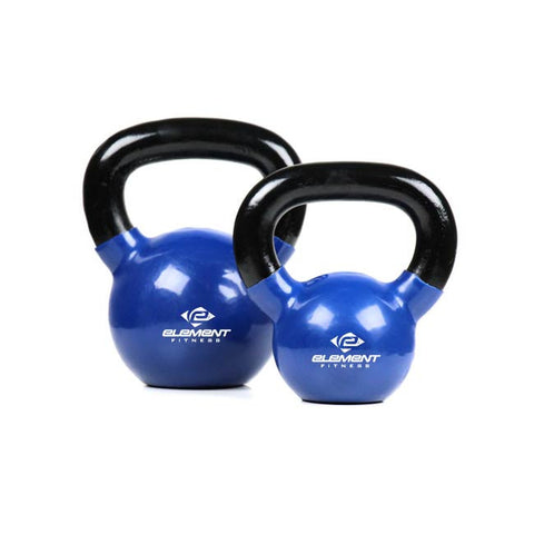Element Fitness 50lbs Vinyl Kettlebell